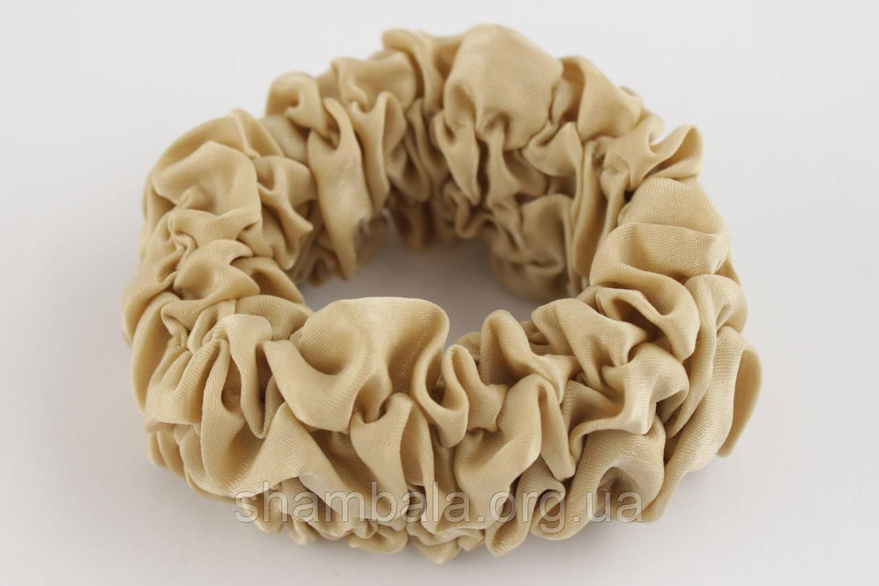 Гумка для волосся Xuping Jewelry шифон Бежевий (026398)