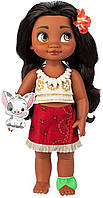 "Кукла Моана Ваяна оригинал Дисней 38см Disney Animators' Collection Moana Doll in Box Toddler 15"", фото 1"