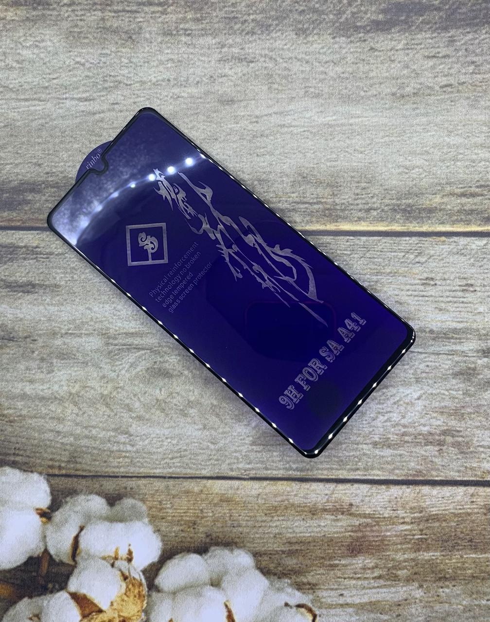 Защитное стекло на Samsung A41 2020 (A415F) захисне скло Premium качество