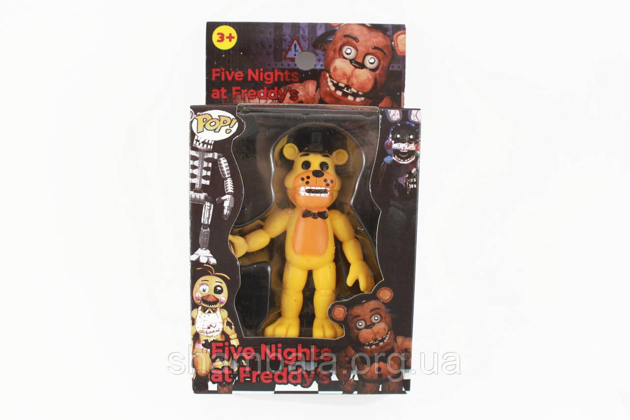 Фигурка кошмарного аниматроника Фредди из игры Пять Ночей с Фредди в индивидуальной упаковке (090573)