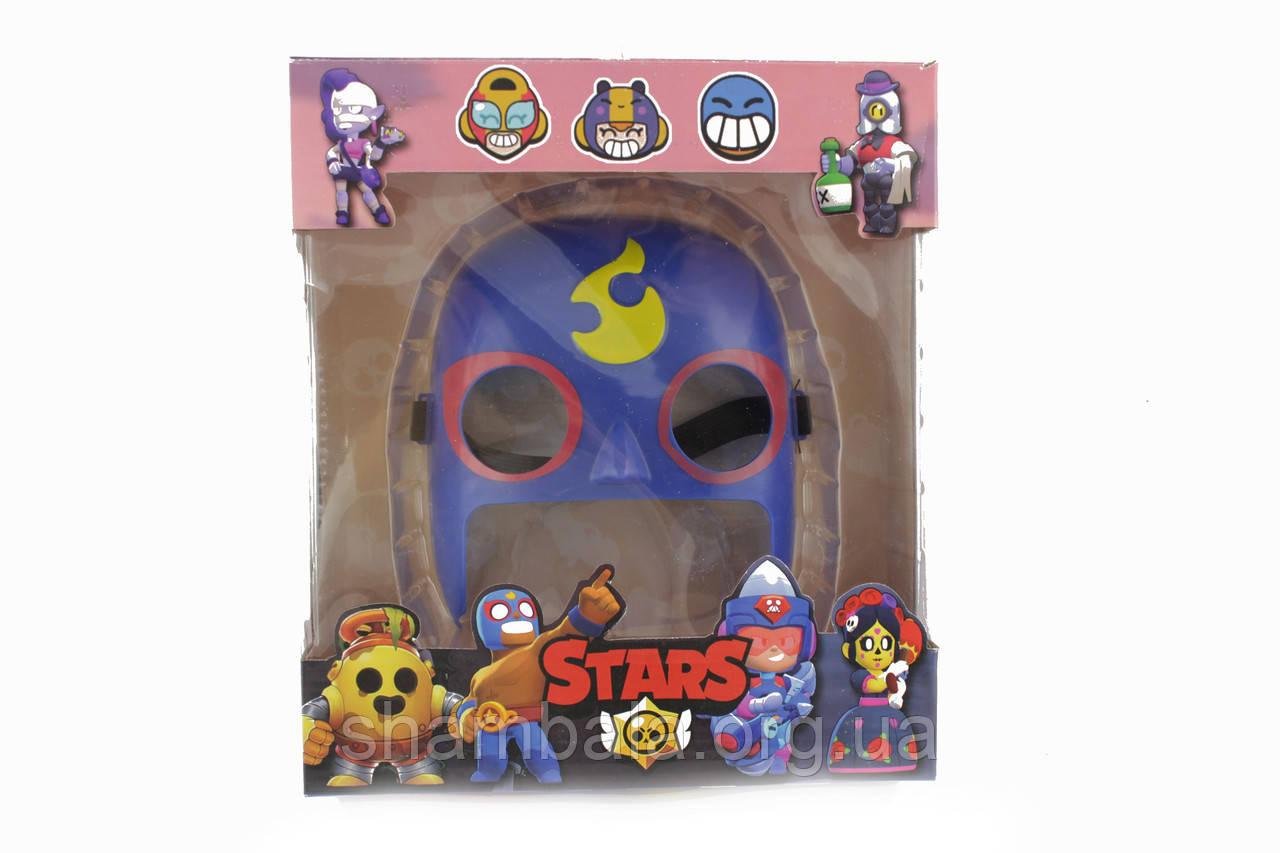Маска Бравл старс пластикова дитяча Brawl Stars (090566)