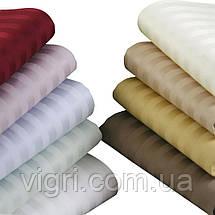 """Постільна білизна двоспальна, сатин страйп """"Stripe"""", Вилюта «Viluta» VSS 81, фото 3"""