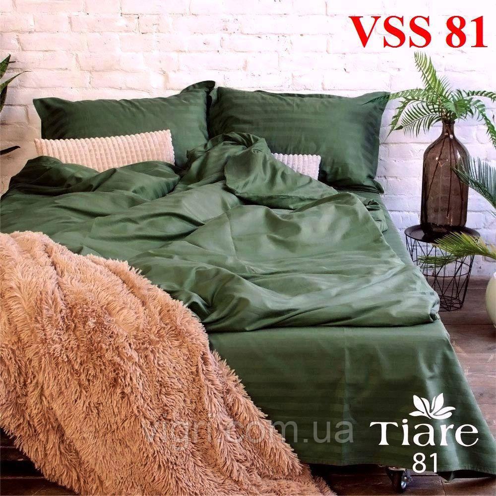 """Постільна білизна двоспальна, сатин страйп """"Stripe"""", Вилюта «Viluta» VSS 81"""