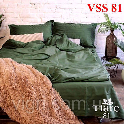 """Постільна білизна двоспальна, сатин страйп """"Stripe"""", Вилюта «Viluta» VSS 81, фото 2"""