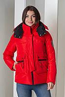 Пуховик Peercat 20-922 красного цвета XL, фото 1