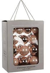 """Елочные шарики 26 шт., """"House of Seasons"""" комплект, цвет розовый"""