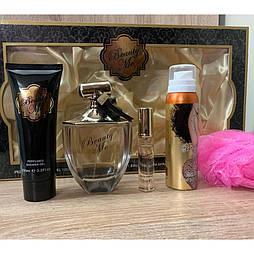 Женский подарочный набор Beauty me Perfume Gift Set for Women's 5 предметов