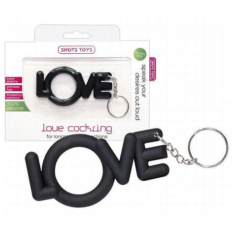 Эрекционное кольцо Love Cockring, фото 2