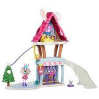 Enchantimals лыжный домик-шале с кроликами Беви и Джамп Ski Chalet Playset