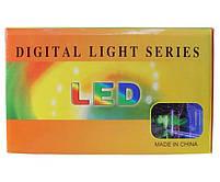 Гирлянда разноцветная Водопад Xmas 7272 M-3, 3x2 м, 360 LED-ламп, коннектор, фото 3