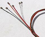 Струны для  гитары гитарные струны 6 шт металлические цветные, фото 3