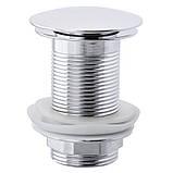 Донный клапан (кнопка) ZERIX LR65 (ZX2985), фото 2
