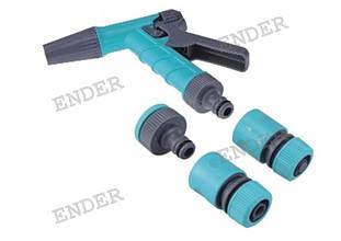 """Набір для поливу Ender для шланга 3/4"""" з пістолетом"""