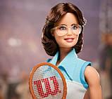 Barbie Барби Вдохновляющие женщины Билли Джин Кинг GHT85 Inspiring Women Billie Jean King Collectible, фото 3