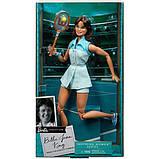 Barbie Барби Вдохновляющие женщины Билли Джин Кинг GHT85 Inspiring Women Billie Jean King Collectible, фото 5