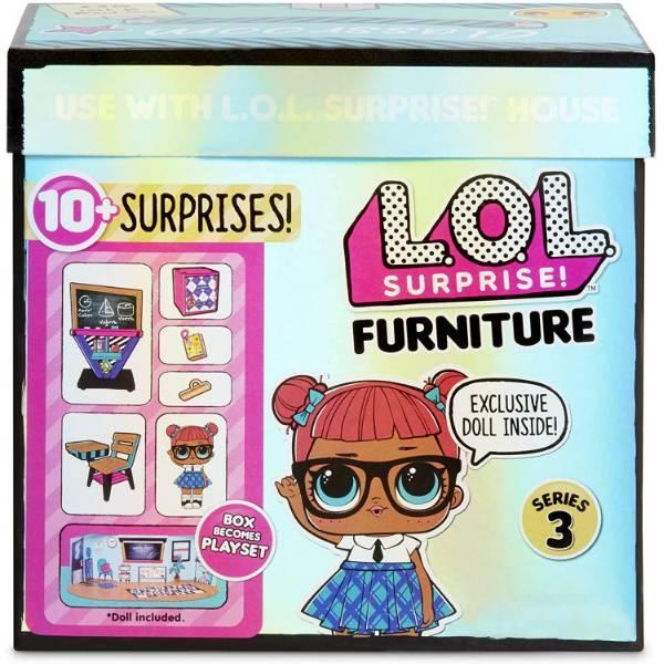 L. O. L. Surprise! S3 Стильный интерьер Школьный класс 570028 Furniture Classroom Teacher's Pet 10+ Surprises