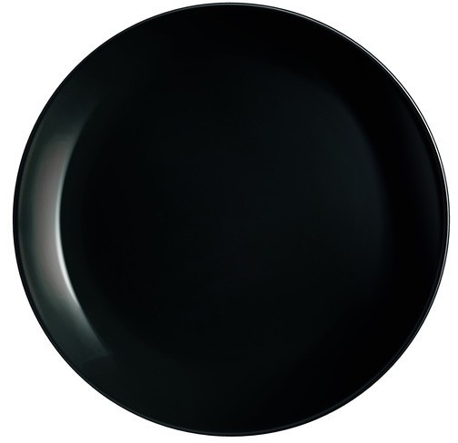 Тарелка мелкая  Diwali  Black Luminarc 190mm