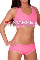 "Топ+шорты ""CrossFit"" для занятий  фитнесом,exotic pole dance, pole dance."