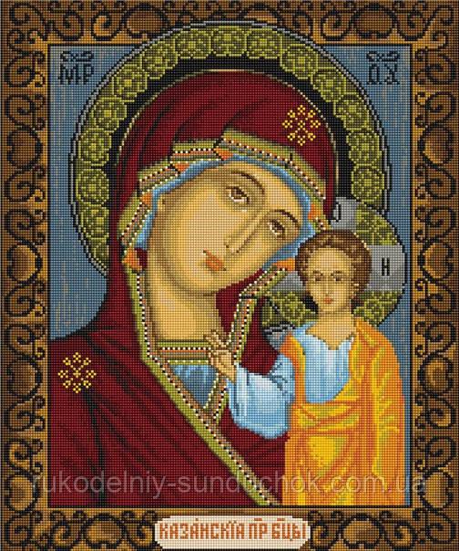 Набор для вышивки крестом Luca-S B436 Казанская Божья Матерь