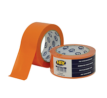 Малярная лента ПВХ PVC ORANGE для штукатурки и бетона. НРХ