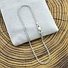 Серебряный браслет родированный Панцирный длина 16 см ширина 2 мм вес серебра 1.6 г, фото 4