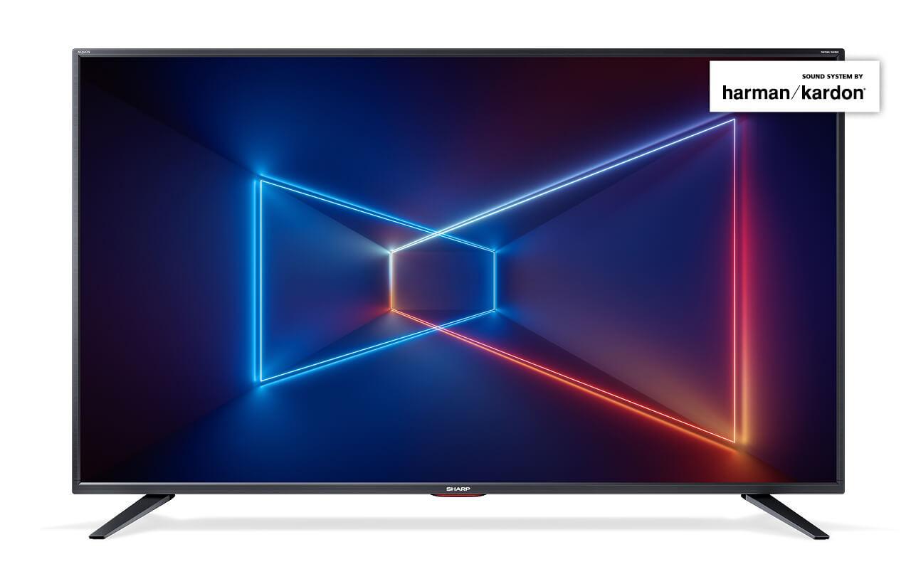 Телевизор Sharp LC-55UI7552E (UltraHD / 4K / SmartTV / 400Hz / HDR / DVB-С/T2/S2)