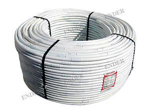Капельная трубка белая Ender, Турция, капельницы через 20 см, диаметр 16 мм, длина 200 м.