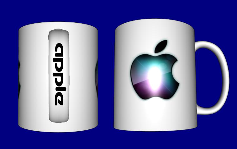 Кружка / чашка Apple