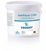Химия для бассейнов SetiFlock C310 8кг. (на основе сульфата алюминия, для очистки и осветления мутной воды)