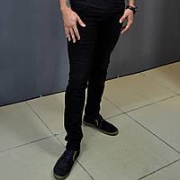 Джинсы мужские чёрные зауженные Prada, джинсы skinny