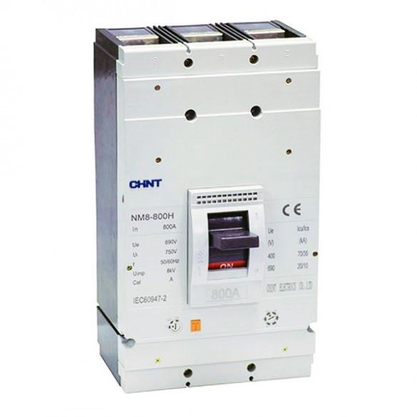 Силовой автоматический выключатель NM8-800S/3300 800A 50кА Chint, 3099