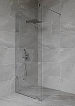 Перегородка в душову прозора 2000*720 мм