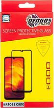 Защитное стекло Dengos для Oppo A12 Black Full Glue Matte (TGFG-MATT-33)