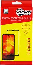 Защитное стекло Dengos для Oppo Reno3 Black Full Glue (TGFG-124)