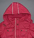 Зимняя куртка для девочки розовая (QuadriFoglio, Польша), фото 5