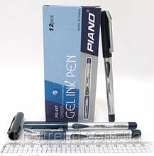 Ручка гелевая Piano PG-817 синяя