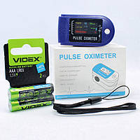 Пульсоксиметр медицинский напалечный для контроля пульса SpO2P8 Электронный пульсометр оксиметр