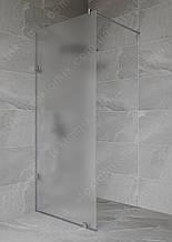 Перегородка в душову матова 2000*690 мм