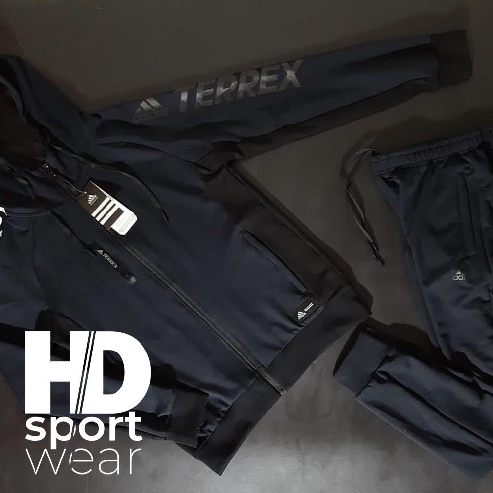 Мужские спортивные костюмы ADIDAS ,эластик с флисом