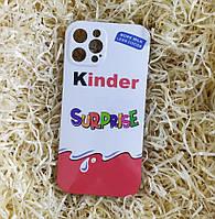 Чехол Kinder Surprise для iPhone 12 Pro Max, силиконовый