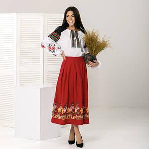 Женские юбки с вышивкой