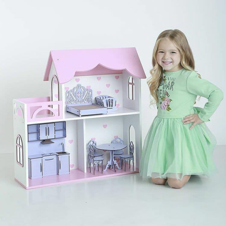 Будиночок для ляльок. М 002.Безкоштовна Доставка!