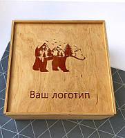 Коробка из фанеры 30х30х10 см, фото 1