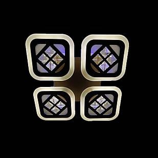 Светодиодная люстра 70 Вт с подсветкой основания и диммером СветМира LS-7110/4S LED