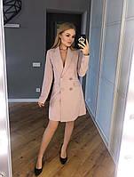 Женское классическое платье - пиджак .
