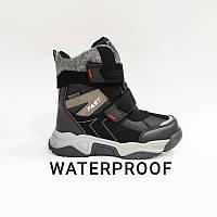 Ботинки детские ЗИМА на мембране WATERPROOF 35