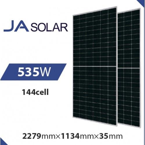 Монокристаллическая солнечная панель JA Solar JAM72S30-535/MR 535 Вт