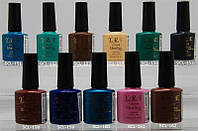 Гель-лак YRE SCL 10 ml, цветное покрытие №151-162, гель лак с доставкой по Украине