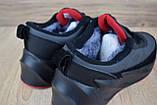 Мужские зимние кроссовки Adidas Sharks серые с красным, фото 5