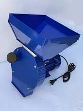 Зернодробилка электрическая DONNY - 3500 для переработки пшеницы, ячменя, кукурузы 240 кг/час, фото 2